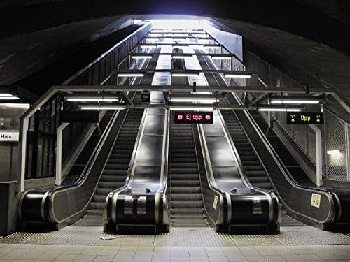 Escalera mecánica, Estocolmo Suecia: Amazon.es: Juguetes y juegos