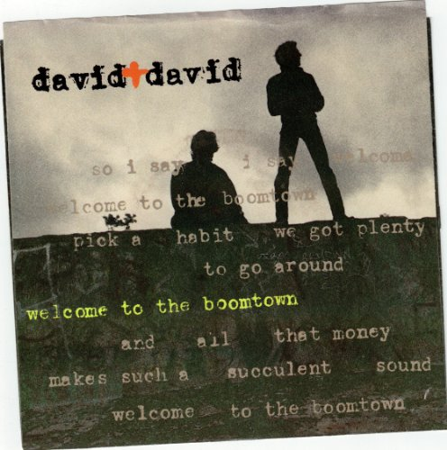 DAVID & DAVID / Welcome To The Boomtown / 45rpm record + picture sleeve (David & David Welcome To The Boomtown)