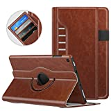 MoKo Case for All-New Fire HD 8 2016/2017/2018-360 Degree Rotating Cover with Auto Wake/Sleep for Amazon Fire HD 8 (6th/7th/8th