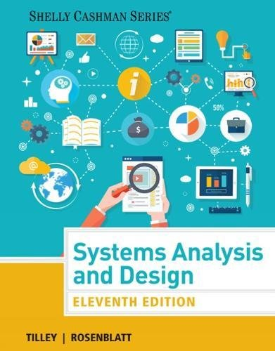 Systems Analysis and Design (Shelly Cashman Series) Image