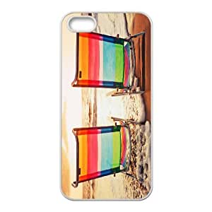 iPhone 5,5S Phone Case Beach Chairs U8T91514