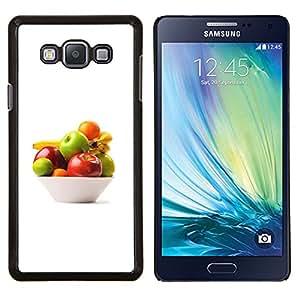 YiPhone /// Prima de resorte delgada de la cubierta del caso de Shell Armor - Naturaleza Hermosa Forrest Verde 97 - Samsung Galaxy A7 A7000