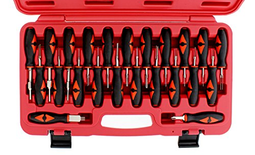 ABN Terminal Release Kit, 23-Piece – Universal Electrical Terminal Removal for American Domestic and Imported Vehicles by ABN