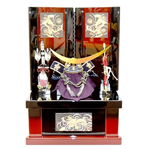 五月人形 収納飾り 伊達政宗 コンパクト 兜飾り かぶと 5月人形 kabuto40-49 B007MGW1BG