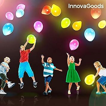 LCQI Globos Led Fiestas Cumpleaños Colores Luz Fiesta Boda ...