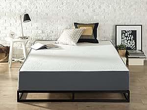Zinus Responsive Memory Foam 10 Inch / Firm / Universal Comfort Support Mattress, Queen