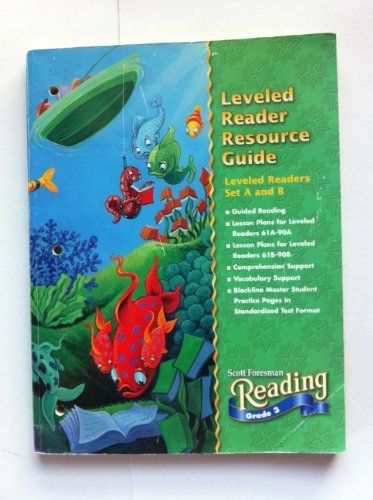 Download Scott Foresman Reading, Grade 3: Leveled Reader Resource Guide, Leveled Readers Set C Challenge pdf