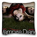 Custom Cotton & Polyester Soft ( The Vampire Diaries ) Custom Zippered Pillow Case 20x36 inches(one sides) from Surprise you suitable for California King-bed