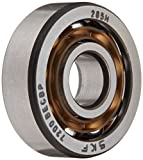 SKF 7200 BECBP Light Series Angular Contact Ball Bearing, Universal Mounting, ABEC 1 Precision, 40° Contact Angle, Open, Plastic Cage, Normal Clearance, 10mm Bore, 30mm OD, 9mm Width, 3350.0 pounds Static Load Capacity, 7020.00 pounds Dynamic Load Capaci