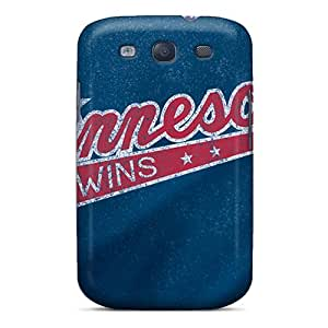 Hot Tpu Cover Case For Galaxy/ S3 Case Cover Skin - Minnesota Twins