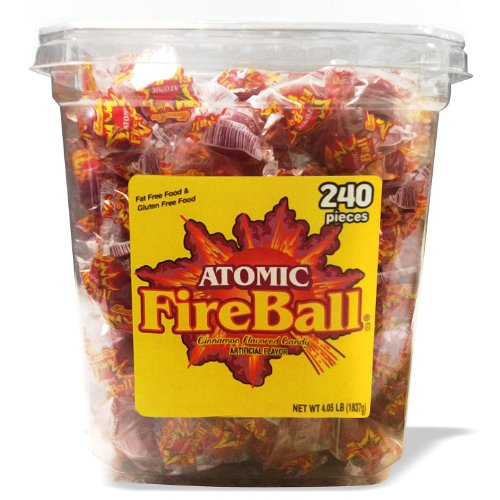 Atomic Fireballs Jar, 4.05 Pound