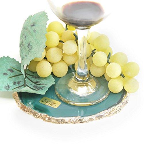 Green Agate Slice - 5