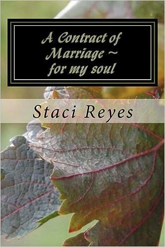 Englische Lehrbücher zum Herunterladen A Contract of Marriage ~ for my soul (SMS Series Book 2) PDF by Staci Reyes