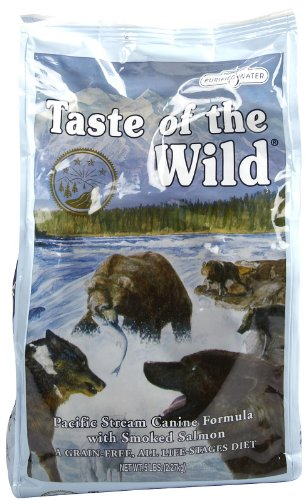 Taste of the Wild Pacific Stream Canine - Smoked Salmon - 5 lb (Taste Of The Wild Pacific Stream Dog Food)