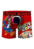 Crazy Boxers Men's Froot Loops Boxer Briefs X-Large