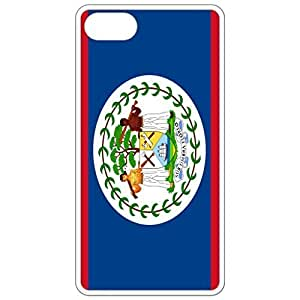 Belize Flag White Apple Iphone 4 4s Cell Phone Case - Cover