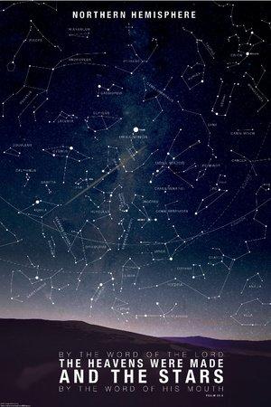 Star Map- Psalm 88:6 Poster Print, 61x92 cm: Amazon co uk: Kitchen