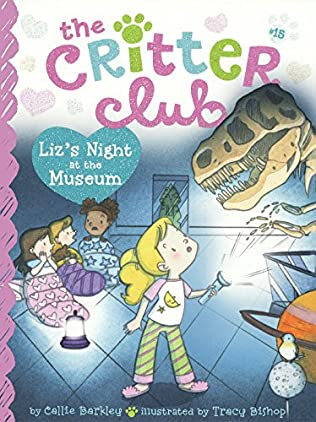 book cover of Liz\'s Night at the Museum