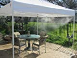 Mid Pressure Misting Tents – Advanced: 4 Sides of Mist (Color: White) Cool-Off Review