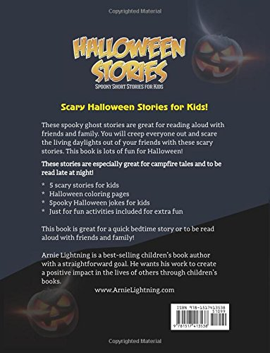 halloween stories spooky short stories for kids jokes and  halloween stories spooky short stories for kids jokes and coloring book haunted halloween fun volume 4 arnie lightning 9781517413538 com