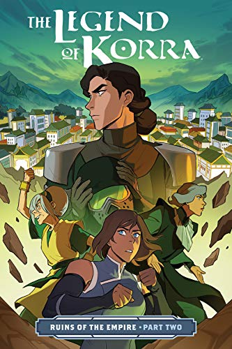 Pdf Graphic Novels The Legend of Korra: Ruins of the Empire Part Two