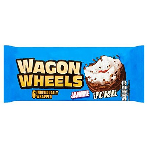 Wagon Wheels Jammie - 229g - 6-er Pack