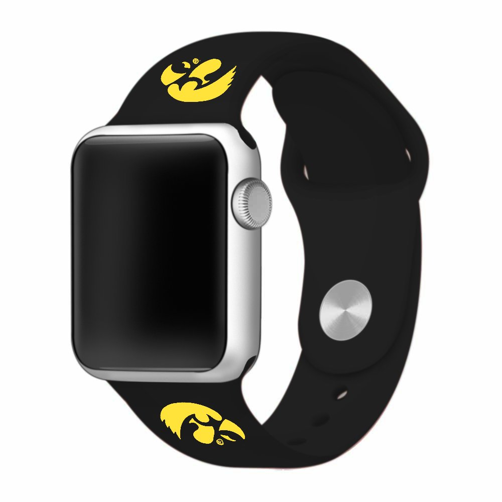 amazon com watch band only university of iowa hawkeyes silicone