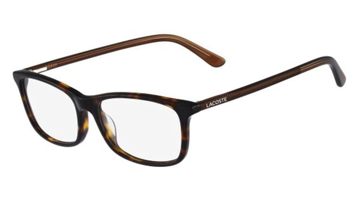 23f95f7c5d5 Amazon.com  Eyeglasses LACOSTE L 2711 216 HAVANA  Clothing