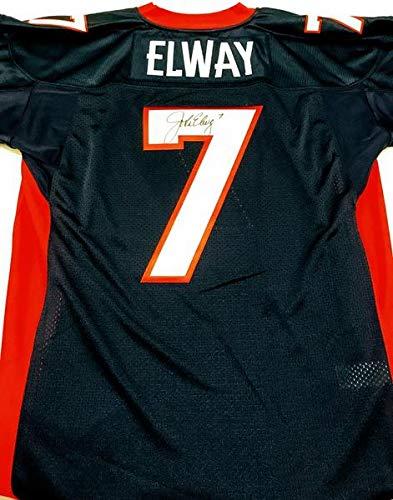 finest selection 8d0b0 49b62 Amazon.com: John Elway Signed Super Bowl XXXII Jersey ...