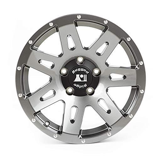 - Rugged Ridge XHD Wheel Gun Metal Wheel (17x8.5/5x5, 10mm Offset)