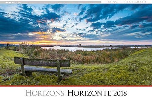"""Calendario Da Muro """"Orizzonti"""" 2018 49,5X34 Cm"""