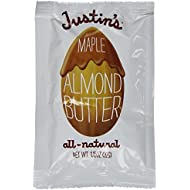 Justins Squeeze Pack Almond Butter Maple, 1.15 oz