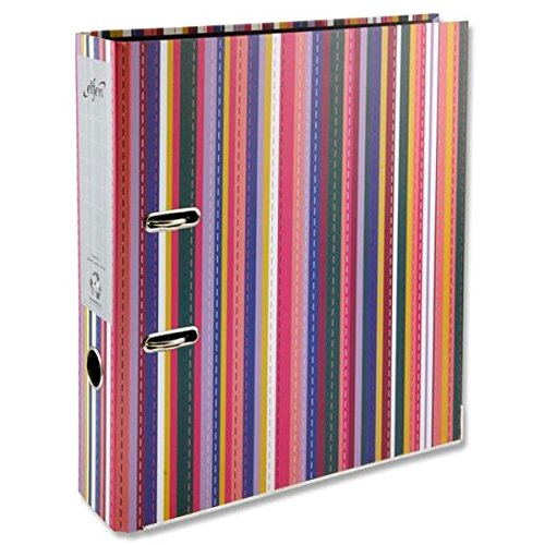 Premier Stationery D2076994 A4 Paper on Board Lever Arch File - Multi-Colour (Pack of 20)