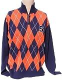 NCAA Syracuse Orange Argyle Sweater, Small