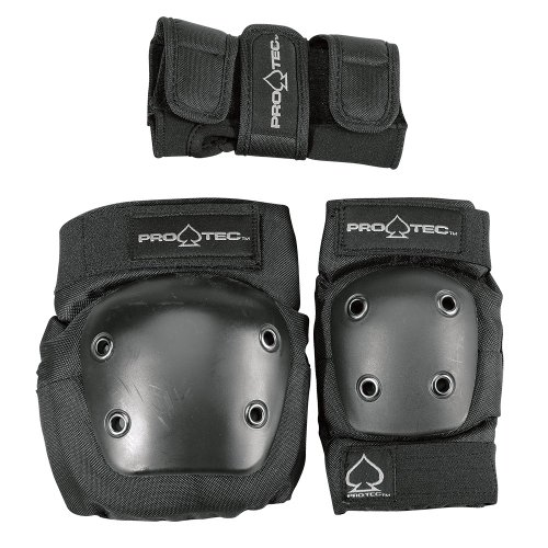 - Protec Jr. Knee/Elbow/Wrist Combo Pad (Black)