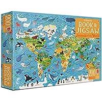 Usborne Book and Jigsaw Animals of the World