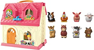 Fisher-Price Little People Surprise and Sounds Home Figures May Vary [Amazon Exclusive] & Little People Animal Friends