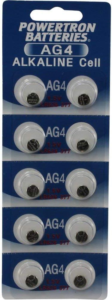 AG4 LR66 SR66 377 177 376 LR626 SR626 626A BATTERY 10