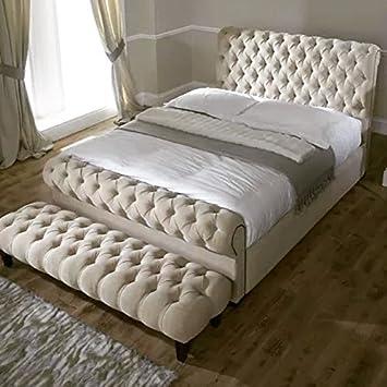 Amazonde Mayfair Chesterfield Bett Mit Stauraum 4 Ft6 Doppelbett