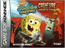Spongebob Squarepants - Creature from the Krusty Krab GBA
