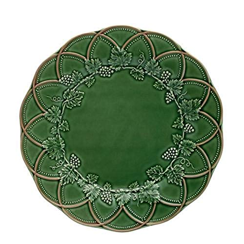 Bordallo Pinheiro Hunting Charger Plates, Green/Brown, Set of 2