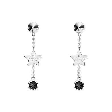 74289b8b0 Gucci Women 925 Sterling Silver Dangle & Drop Earrings - YBD43459800100U:  Amazon.co.uk: Jewellery