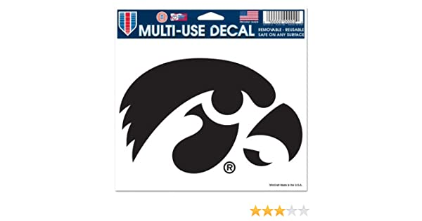 Edwin Group of Companies Iowa Hawkeyes Vinyl Sticker Decal 5 Sizes Cornhole Truck CarBumper Wall 3 x 5 in.