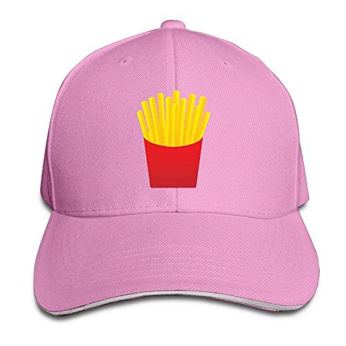 French Fries Fashion Sandwich Cap Snapback Cap