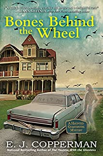 Book Cover: Bones Behind the Wheel: A Haunted Guesthouse Mystery