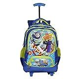 Disney School Trolley Bag For Boys 07+ Years Trolly Big Shot 24 (L) Blue (At-0009)