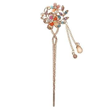 Haar Stock Pin Mode Accessoire Schmuck Haarschmuck Antik Holz Haarnadel