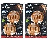 StarMark Everlasting Bacon Dog Dental Chew, Medium, 3.6 oz (2)