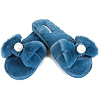 28dd41bd37f JOINFREE Women s Bedroom Slippers Comfort Four Season Classy Indoor Spa  Slide Shoes