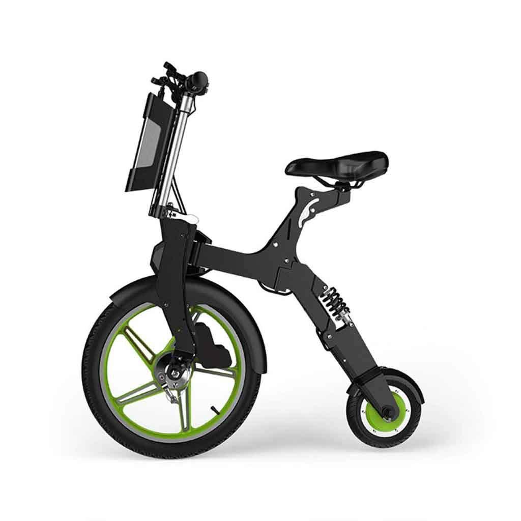 Envío rápido y el mejor servicio B A&DW Bicicleta Bicicleta Bicicleta eléctrica Bicicleta para Adultos, Scooter eléctrico de Ciudad Ultraligera y Plegable, Batería extraíble, 36V 7.8AH, 16.5KG Endurance20KM  comprar barato